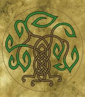 Celtic Tree by wolfsongblue