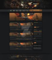StonkCC: World of Warcraft - Site design by InsDev