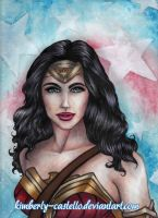 DC: Wonder Woman by kimberly-castello
