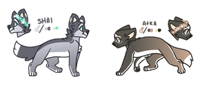 shai + atka refs by kittlet