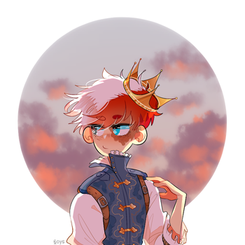 prince shouto by 6oys