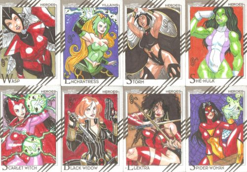 Cards Marvel Fleer Retro 07 by The-Satsui