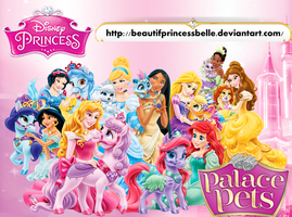 Disney Princesses - Palace Pets Cuteness by BeautifPrincessBelle