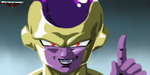 Golden Frieza Portrait by Evil-Black-Sparx-77