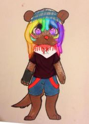 Rave Otter Adopt~~ by Monster-Rage