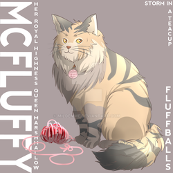 Fluffballs (Original Character) Storm in a Teacup by Mildemme