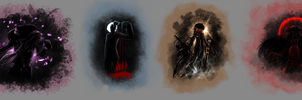 Dark Inferus Sketches by half-rose