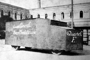 Revolutionary armoured car, 1924. by Gukpard