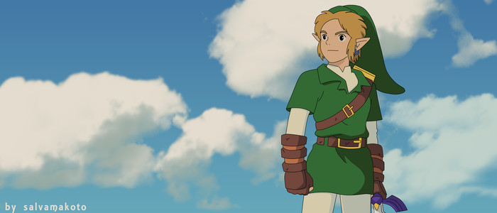 THE LEGEND OF ZELDA (GHIBLI) by salvamakoto
