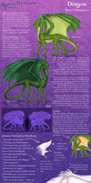 A.E. Bestiary: Dragon, Part 1 by Accidental-Elemental