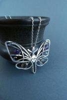 Death's-head Hawkmoth necklace by UrsulaJewelry