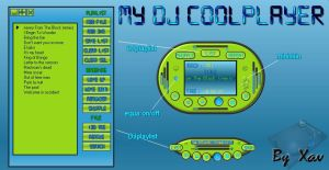 My DJ coolplayer by Xav73