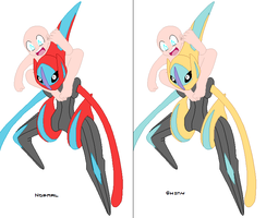 Deoxys and OC Base