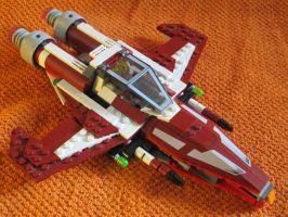 Sparrowhawk class fighter by Darkjedi4