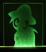 Daring Do Acrylic LED Picture by steeph-k