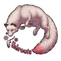 Ikirouta Deluxe Badge by KatieHofgard