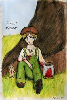 Enoch O'Connor by 2CUTEMADHATTER