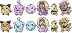 Beta Johto Babies GSC Sprites by Axel-Comics