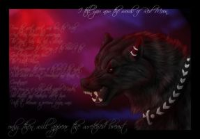 Words of red moon by Thyria