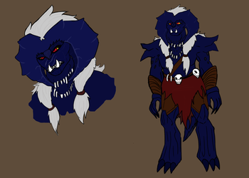 Ragna the Devourer Ref Sheet by LieutenantDroid