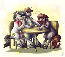 Bar Buddies (GIFT) by LupiArts