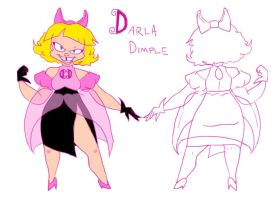 Darla Dimple Villainess by kirkerr