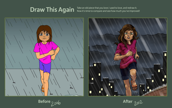 Wet Before and After by Alistu