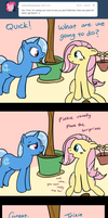 Ask Trixie - Enter Pinkie Pie by TheParagon