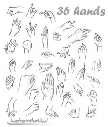 36 Hands by WatermelonOwl