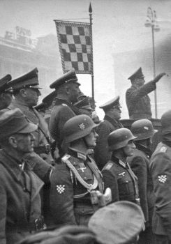 The Croatian legionnaires in the Wehrmacht by someone1fy