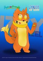 Izzy the Buizel (Hope in Friends Poster) by MickeyMario64