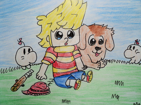 Lucas and Boney by BubbleIce720