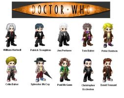 The Ten Doctors of Gaia by BlueBeacon