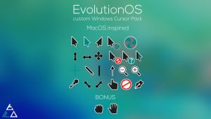 EvolutionOS Custom Cursors for Windows by SK-STUDIOS-DESIGN