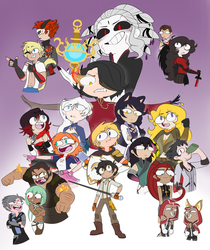 Rwby Infinity Lore Poster by JumpinJammies