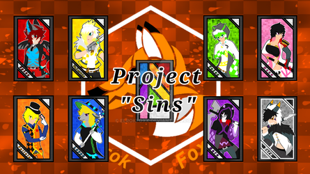 Project Sins: Character Card poster by ElrokFoxx