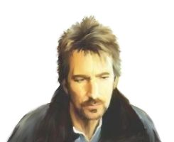 Alan Rickman by IrisLaRue