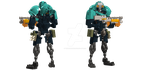 Grineer Lancer by TheMugbearer