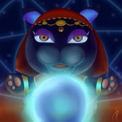Katrina The Fortuneteller by buckatone