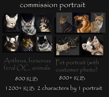 Portrait commission (closed) by SiiroiToriorika