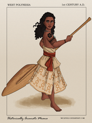 Historically Accurate Moana by Wickfield