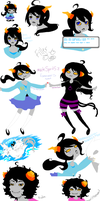 Homestuck Fan Troll Dump by XxRibbonsxX