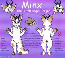 Minx reference sheet by RaveGalaxy
