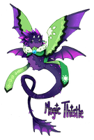 [Closed] Magic Thistle Pacapillar Auction by toripng