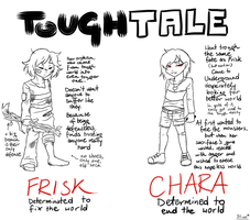 ToughTale! Frisk Chara by Hiroe96