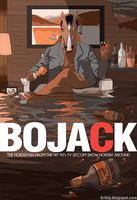 Bojack Mad Men by Eriklyart