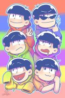 Matsuno Explosion by thewrabbithole