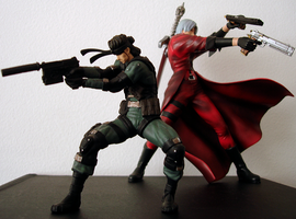 Dante and Snake by UltimeciaFFB