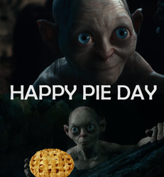 Gollum Pie Day by Blitzhart