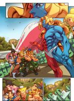 Street Fighter Unlimited Issue 7- Preview 1 by edwinhuang
